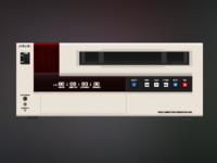 Betacam SP Deck Full Icon