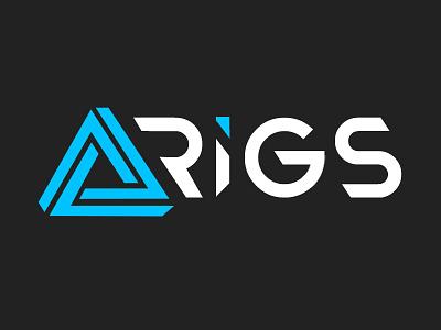 Delta Rigs Branding ethereum ether bitcoin cryptocurrency delta rigs delta branding logos