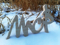 MC Baldassari Wood Signature in the Snow