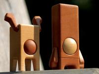 PEARDEER & PEARBLOCK - Wood Designer Toys