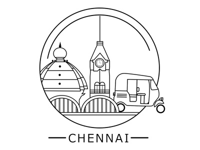 Chennai City Badge