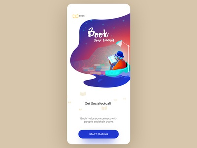 Book concept app - sneak peak