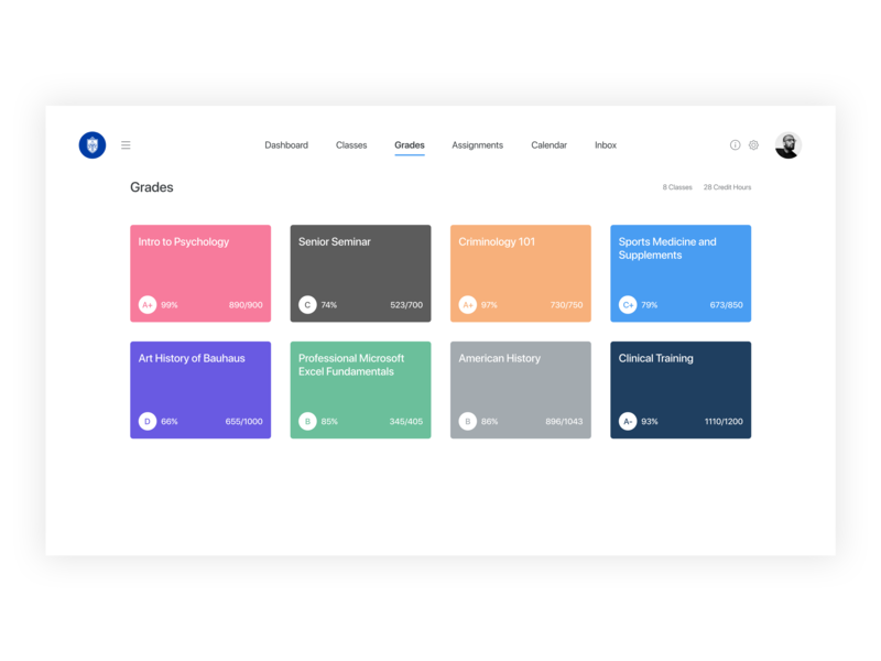 Student Learning Management System student app product design ux designer ui designer ux design user experience uiux user interface user interface ui clean ui dashboard