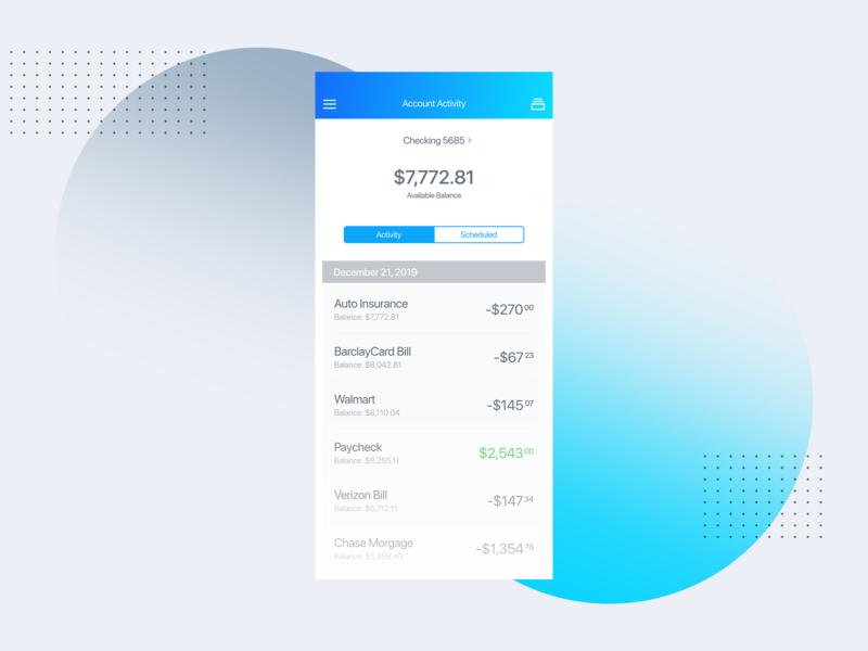 Bank UI Concept invision invisionstudio muzli clean minimal dashboard design dashboard bank concept online banking banking app banking app concept concept design mobile app design uiux ui mobile