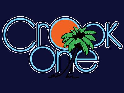 Crook One Yacht Rock Logo Reveal animations animation 2d animation twitch pablo cruise logo design logo sactown northern california norcal dj logo yacht rock sacramento crook one