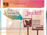 Junobot - The Nature of Technology Record Packaging