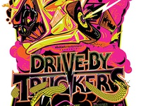 Drive By Truckers - Screen-printed Gigposter