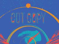 Cut Copy / Classixx Gigposter for Dallas