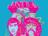 Justice - Screenprinted Poster