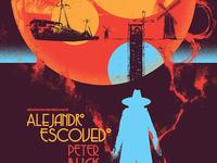 Gigposter for Alejandro Escovedo and Peter Buck