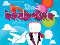 Tim Heidecker & His Ten-Piece Band Gigposter