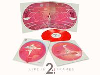 Life in 24 Frames - Ctrl+Z album art. Gatefold Vinyl.