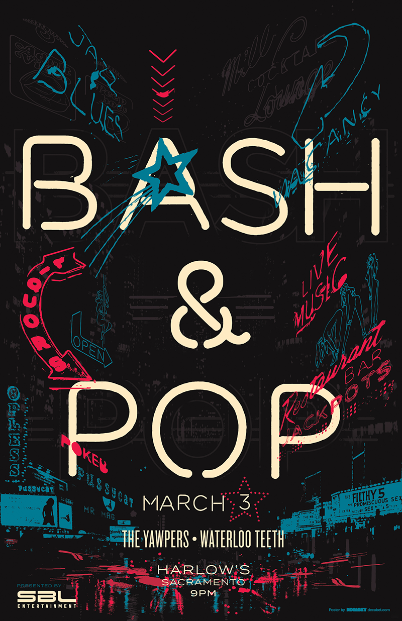 Bash and pop drib