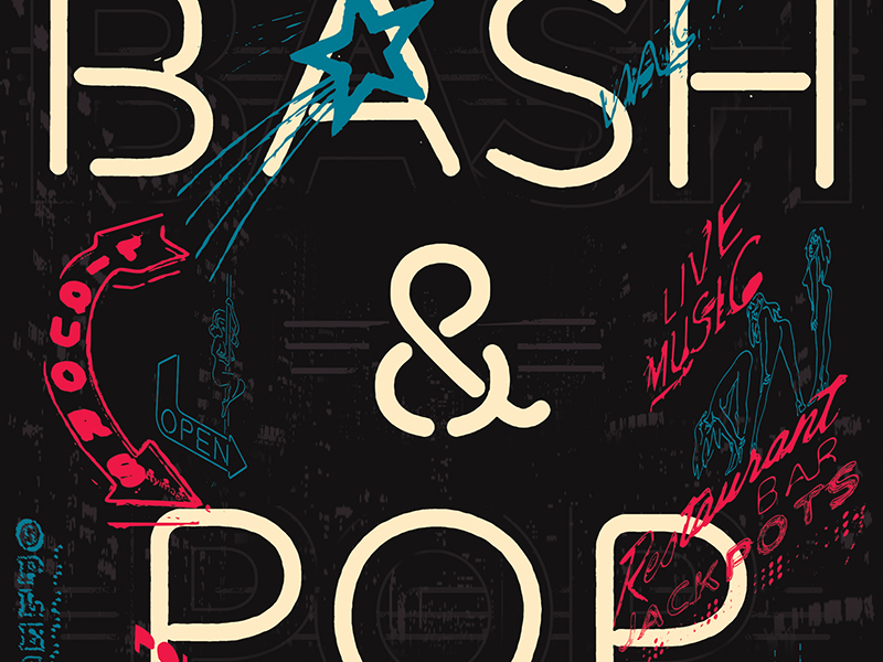 Bash And Pop Gigposter  gigposter poster the replacements bash and pop music