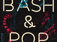 Bash And Pop Gigposter