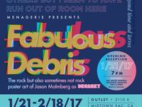 Fabulous Debris Poster 11x17