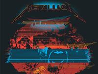 Metallica Poster - Philadelphia 2017