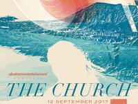 The Church - Gigposter - Sacramento 2017