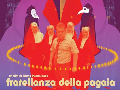 Patton Oswalt in Fratanzella Della Pagaia movie posters dribbble 70s giallo horror films patton oswalt