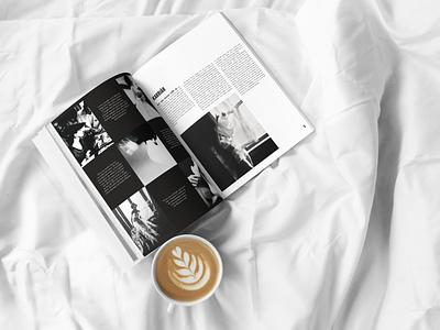 Bassman indesign design lillian bassman layout magazine