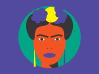 Badass Icons // Frida Kahlo