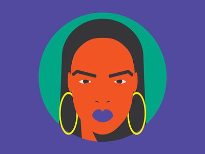 Badass Icons // Rihanna profile illustration rihanna power woman women