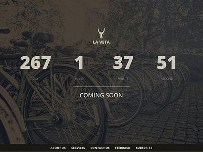 La Veta Home Countdown design website web ux ui