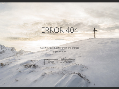 404 page concept - RIP in desert. web template page not found 404 page 404 error design website web ux ui