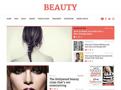 Website Template ux design website web ui