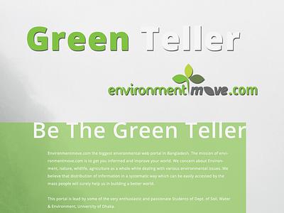 Environment Move web template design website web ux ui