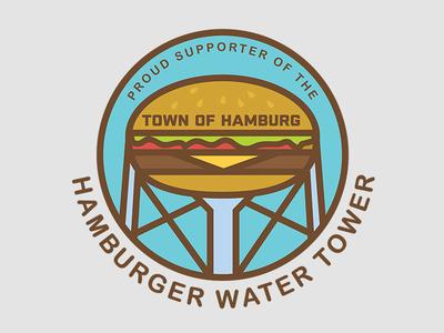 Hamburger Water Tower