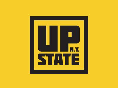Upstate N.Y. thick lines logo binghamton albany utica adirondacks rochester syracuse buffalo new york upstate ny upstate