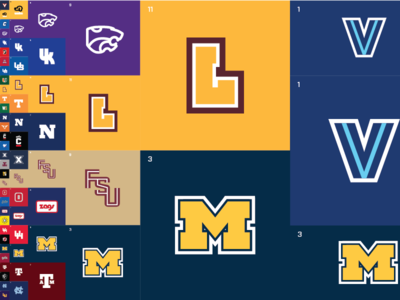 March Madness Minimal - Left Side