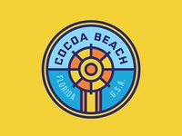 Cocoa Beach Badge