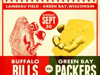 Bills vs. Packer Matchup