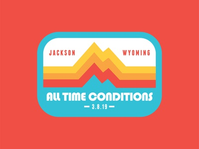 All Time Conditions - Wedding Patch