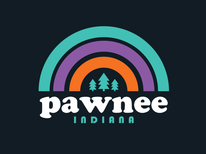 Pawnee Indiana Shirt Woot apparel design woot tshirt vintage outdoors logo pawnee parks and rec apparel badge retro thick lines
