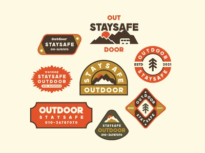 outdoor badges logo typography graphics badgedesign illustration