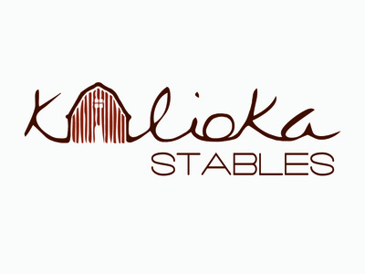 Kalioka Stables Branding horse stable branding logo