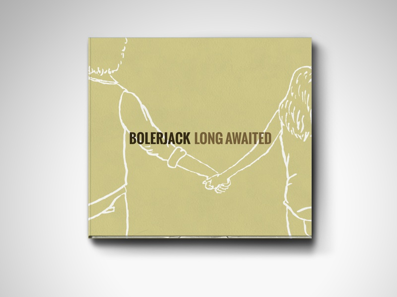 "Bolerjack - ""Long Awaited"" Album Cover design hand drawn album cover design album art album cover"