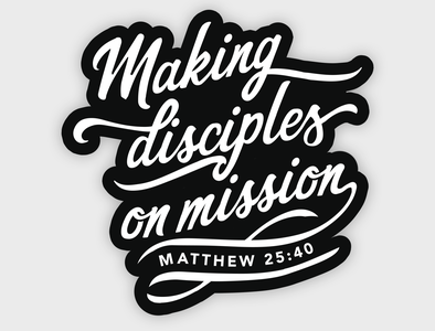 Church Typographic Shirt Design typography missions church design shirt design