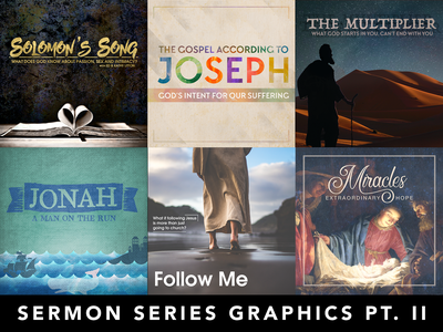 Various Sermon Series Graphics Pt. II church graphics sermon series church sermon