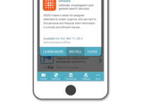Mockup appstore concept