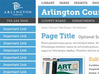 Arlington County Style Tile 2