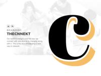 thecnnekt Case Study - 1 logo branding