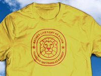 1 Day As a Lion... T-Shirt