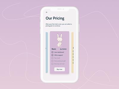 Day 030- Pricing design dailyui userinterface ui  ux uidesign