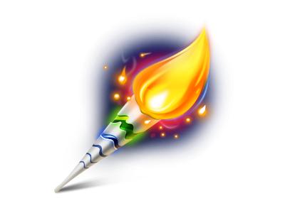Rio 2016 Torch sport rio olympic game illustration icon torch 2016