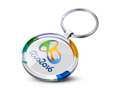 Rio 2016 souvenir trinket game souvenir icon illustration olympic game trinket rio 2016 sport