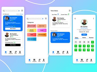 Book Token mobile ui mobile app design webdesign web uxdesign uiux uidesign ui iphone android